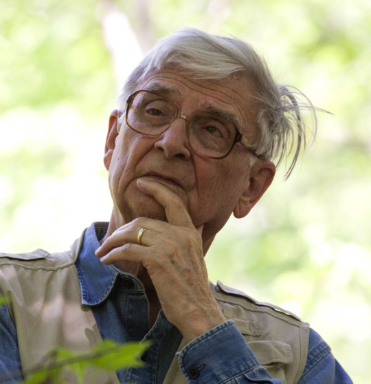 Photograph of Edward O. Wilson by Beth Maynor Young